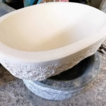 Stone-made basin | Kouvaras, Tinos, Cyclades