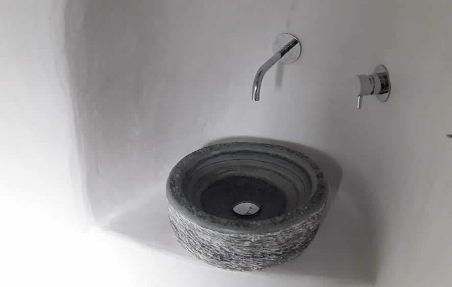 Stone-made basins | Kouvaras, Tinos, Cyclades