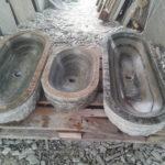 Stone-made basin | Kouvaras, Tinos, Cyclades